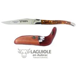 Laguiole Frankreich Taschenmesser Original LAGUIOLE en Aubrac Taschenmesser Griffschalen Popcorn
