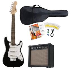 Fender Squier Mini Strat V2 IL BLK E-Gitarre Set