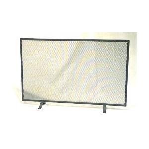 Funkenschutzgitter aus Schmiedeeisen 1tlg. 80 x 52 cm