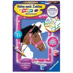 Malen nach Zahlen: Pferd