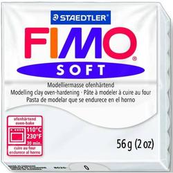 Modelliermasse Fimo soft 56g weiß
