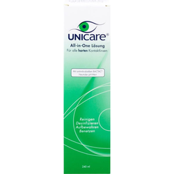 UNICARE All-in-One Lsg.f.alle harten Kontaktlinsen 240 ml