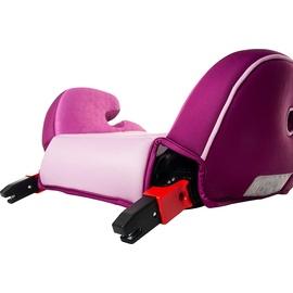 Osann Sitzerhöhung Junior Isofix mit Gurtfix pixel berry