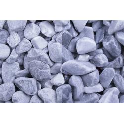Marmor Kristall Blau getrommelt, 25-40, 750 kg Big Bag