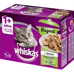 Whiskas Katzennassfutter 1+ Ragout mixed 12 x 85 g