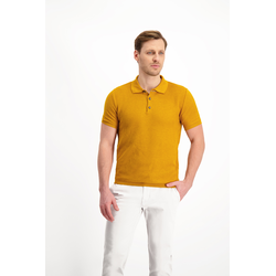 Lavard Senffarbenes Poloshirt 73859