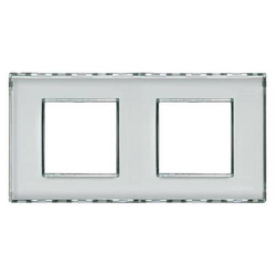 Legrand Rahmen Living&Light Kristall LND4802M2KR