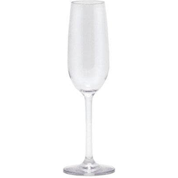 Q Squared NYC Sektglas, (Set, 3 tlg., 3), 100% Polycarbonat, 3-teilig farblos Sektgläser Champagnergläser Gläser Glaswaren Haushaltswaren Sektglas