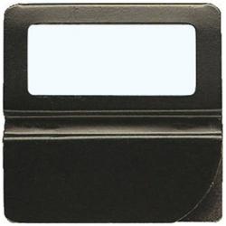 Fensterreiter 25mm schwarz VE=48 Stück
