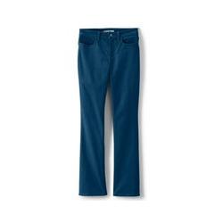 Bootcut Cordhose Mid Waist - 34 32 - Blau