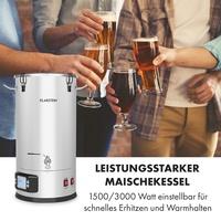 Klarstein Maischekessel 5 Teile 1500/3000W 35l LCD MaischfestBrew