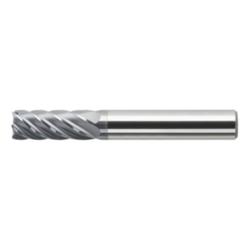 HSC-Mehrzahnfräser Ø 6x6x16x58 mm. HA-Schaft