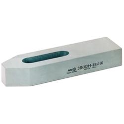 Einfache Spanneisen 14x125 mm DIN 6314