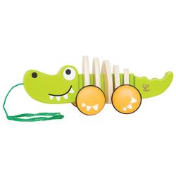 Hape Nachziehtier Croc, Fördert Feinmotorik, Koordination und Vorstellungskraft
