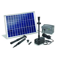 Solar Pumpensystem Siena - mit LED Beleuchtung