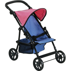 Knorrtoys® Puppenbuggy Liba - jeans blue