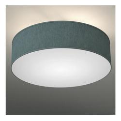 B.K.Licht Deckenleuchte, LED Deckenlampe Stoff-Textil-Lampenschirm Schlafzimmer Wohnzimmerlampe E14