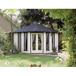 Alpholz Gartenhaus Portland A, mit Imprägnierung