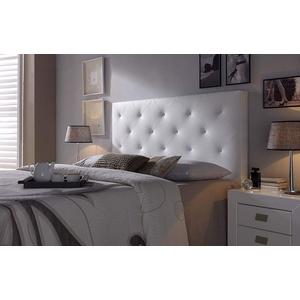 Marckonfort - Rombo Kopfteil für Bett, 150 X 60 X 8 CM Farbe Weiß