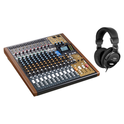 Tascam Model 16 Analogmischpult Set