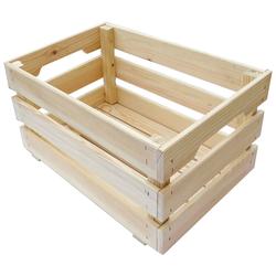 ADOB Holzkiste, (Set) beige Kisten Truhen, Körbe Schlafzimmer Holzkiste