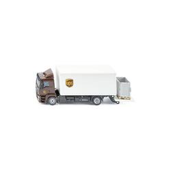 Siku Spielzeug-Auto 1997 MAN LKW mit Kofferaufbau und Ladebordwand UPS