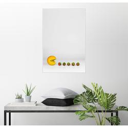 Posterlounge Wandbild, Pacman 20 cm x 30 cm