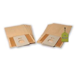 eVendix Staubsaugerbeutel 10 Staubsaugerbeutel Staubbeutel passend für Staubsauger GoldStar V - 2700 TE, passend für GoldStar