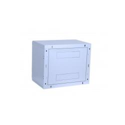 """TRITON Delta B Schrank geeignet für Wandmontage RAL 7035 6U 48.3 cm 19"""" """"Rack-Wandmontage 6HE / 400 Glastür (RBA-06-AS4-CAX-A1)"""