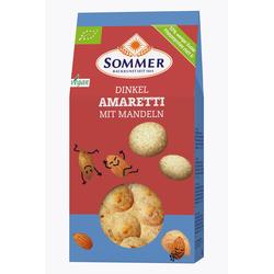 Sommer Dinkel Amaretti mit Mandeln 125g