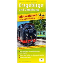 Erzgebirge und Umgebung 1:160 000