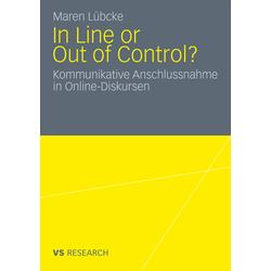 In Line or Out of Control? als Buch von Maren Lübcke