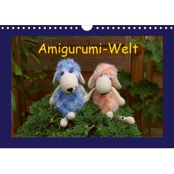 Amigurumi-Welt (Wandkalender 2021 DIN A4 quer)
