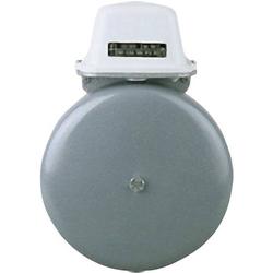Grothe 22557 Klingel 230V (max) 110 dBA Grau, Weiß
