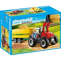 Playmobil Country Riesentraktor mit Anhänger (70131)