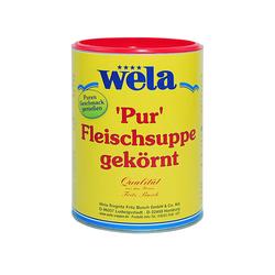 Fleischsuppe 'Pur' - wela 1/1 Dose