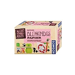 Blühendes Papier  Bastelbox