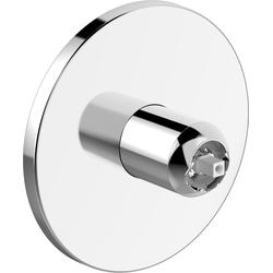 Hansa Fertigmontageset HANSADESIGNO für Einhand-Brause-Batterie verchromt