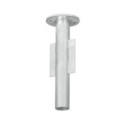 Dehner Schirmständer Bodenhülse für Ampelschirme,Ø 14.5 cm, Höhe 40 cm