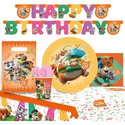 Amscan Kindergeschirr-Set Partyset 44 Cats, 42-tlg.