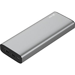 XLayer Powerbank Plus MacBook 20100mAh Space Grau