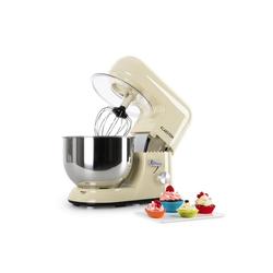 Klarstein Küchenmaschine Bella Morena Küchenmaschine, 1200W 1,6 PS, 5 Liter, 1200 W natur
