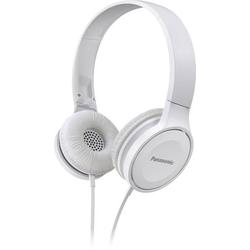 Panasonic RP-HF100ME Reise On Ear Kopfhörer On Ear Faltbar, Headset Weiß