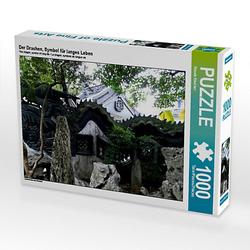 Der Drachen, Symbol langes Leben Lege-Größe 64 x 48 cm Foto-Puzzle Bild von Renate Bleicher Puzzle  Kinder