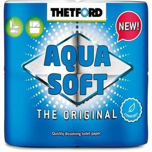 Thetford Aqua Soft Toilettenpapier, 4er-Pack