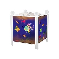 Magische Laterne Regenbogenfisch©  weiß