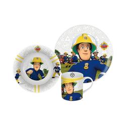 p:os Kindergeschirr-Set Kindergeschirr Keramik Minnie Mouse, 3-tlg. blau