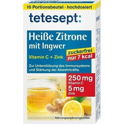 TETESEPT heiße Zitrone mit Ingwer zuckerfr.Pulver 30 g
