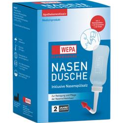 WEPA Nasendusche mit 10x2,95 g Nasenspülsalz 1 P