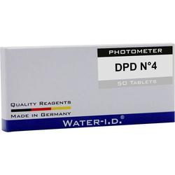 Water ID 50 Tabletten DPD N°4für PoolLAB Tabletten